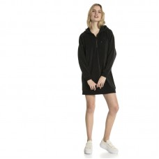 Puma Wmns Downtown Long Sleeve Hooded Dress - Kleidid