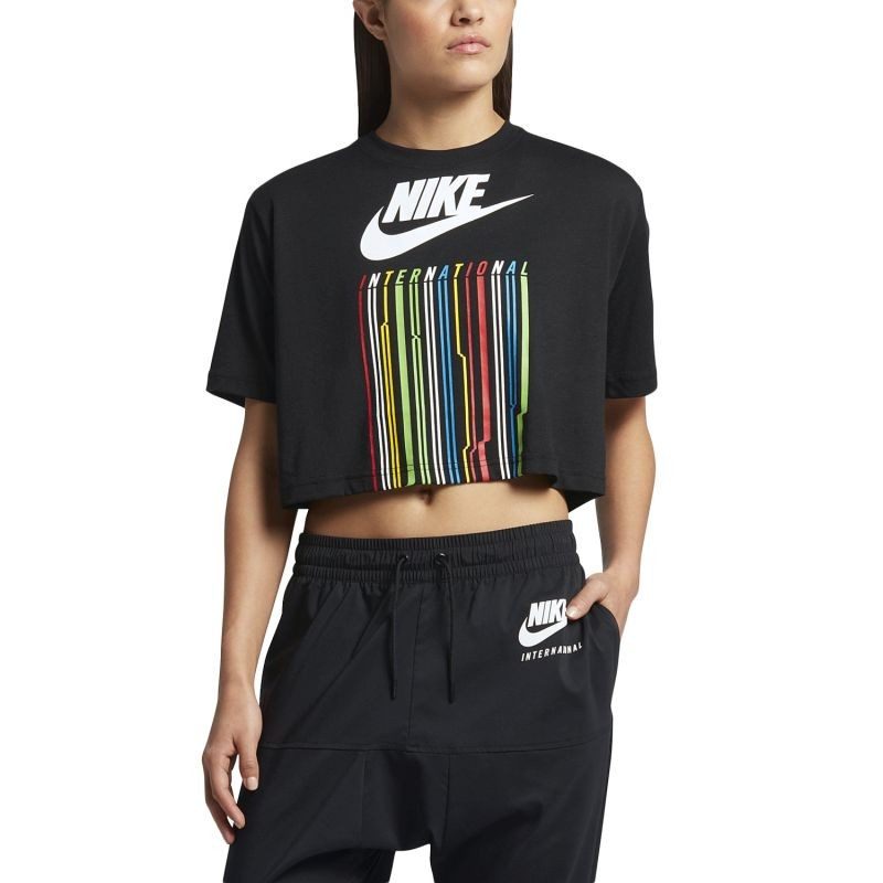 Nike WMNS International Drip Crop Top - T-särgid