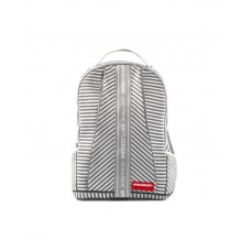 Sprayground Japan Stripe White Knit DLX Backpack