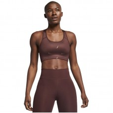 Nike Wmns Swoosh Medium Support Printed Sports Bra - Spordirinnahoidjad