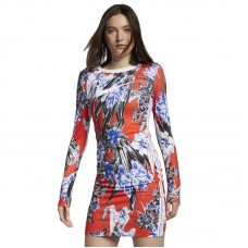 Nike Wmns Long Sleeve Printed Dress - Kleidid