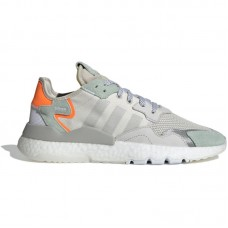 adidas Originals Nite Jogger Boost Grey One Vapour Green - Vabaajajalatsid