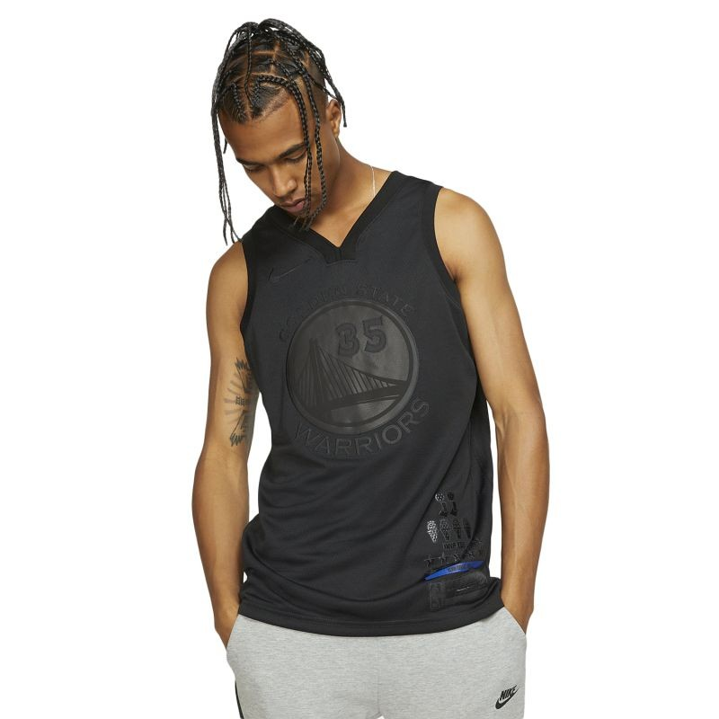 Nike NBA Golden State Warriors Kevin Durant MVP Swingman Jersey - T-särgid