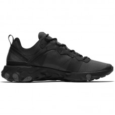 Nike React Element 55 Triple Black