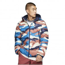 Nike Sportswear Down-Fill Windrunner Printed Hooded Jacket - Joped