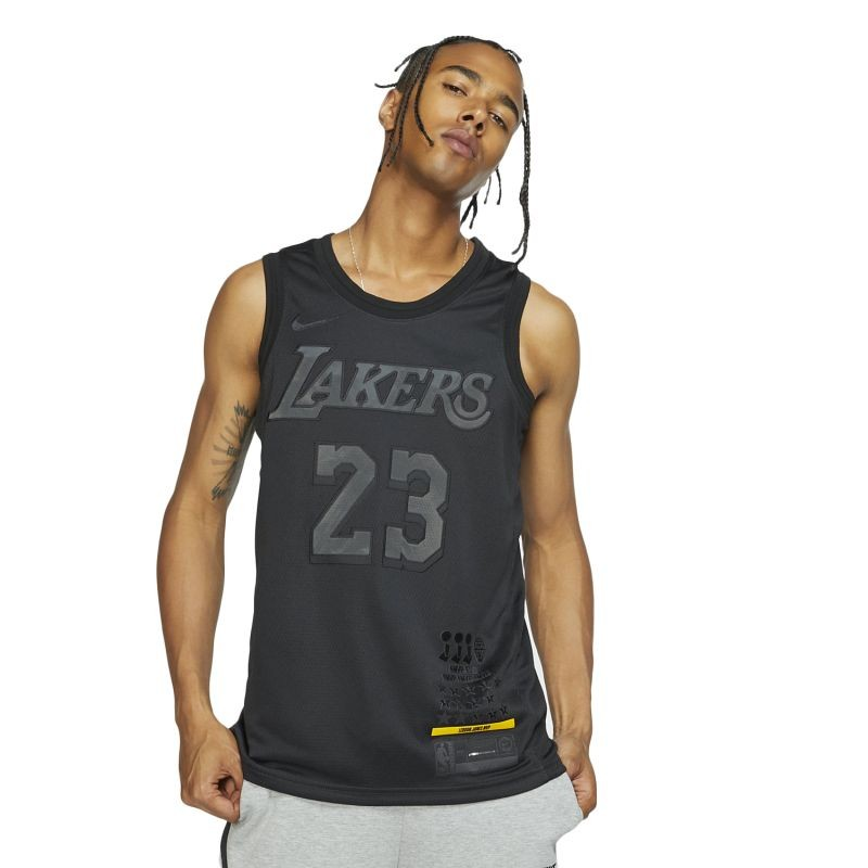 Nike NBA Los Angeles Lakers LeBron James MVP Swingman Jersey - T-särgid