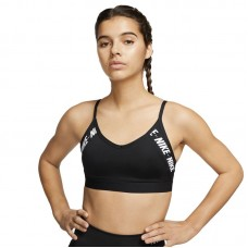 Nike Wmns Indy Light-Support Logo Sports liemenėlė - Spordirinnahoidjad