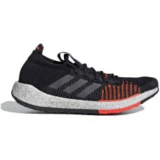 adidas Pulseboost HD Black Grey Red - Vabaajajalatsid