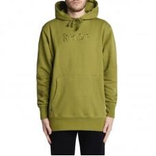 RIPNDIP Logo Embroidered Pull Over Hoodie